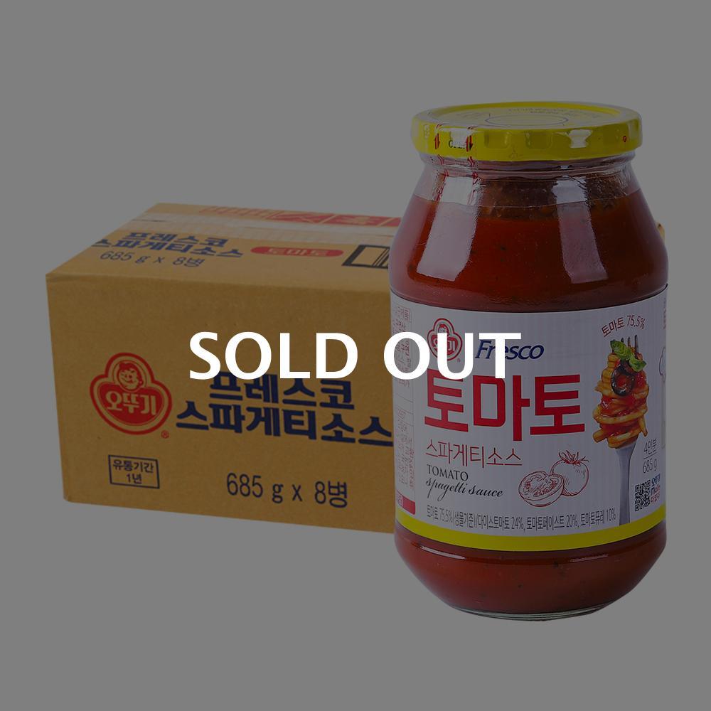 오뚜기 스파게티소스 토마토685g(8개)이식사