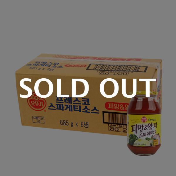오뚜기 스파게티소스피망양파685g(8개)이식사