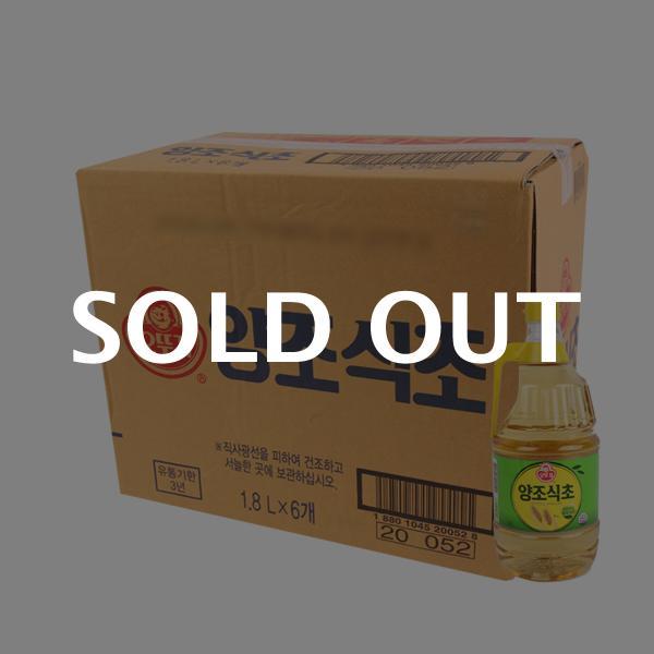 오뚜기 양조식초1.8L(6개)이식사