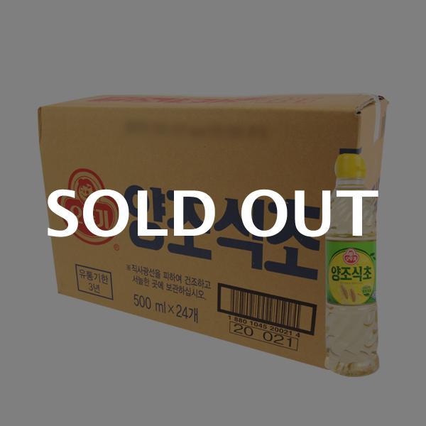 오뚜기 양조식초500ml(24개)이식사