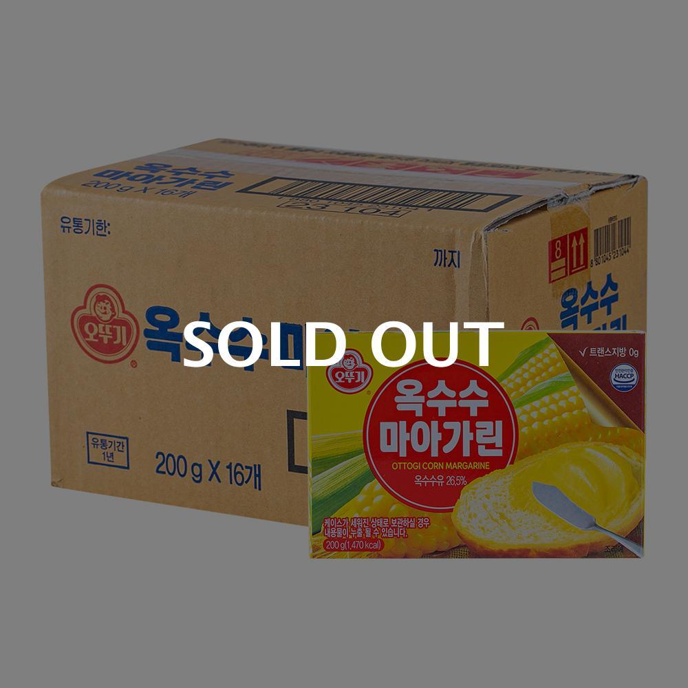 오뚜기 옥수수마아가린200g(16개)이식사
