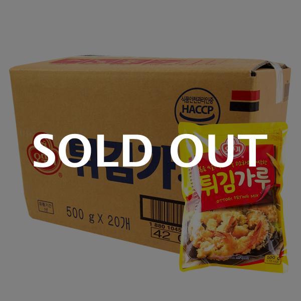 오뚜기 튀김가루500g(20개)이식사