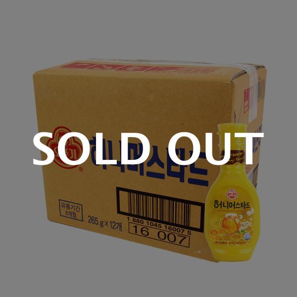 오뚜기 허니머스타드265g(12개)이식사
