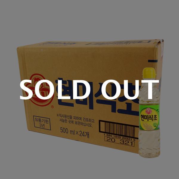 오뚜기 현미식초500ml(24개)이식사