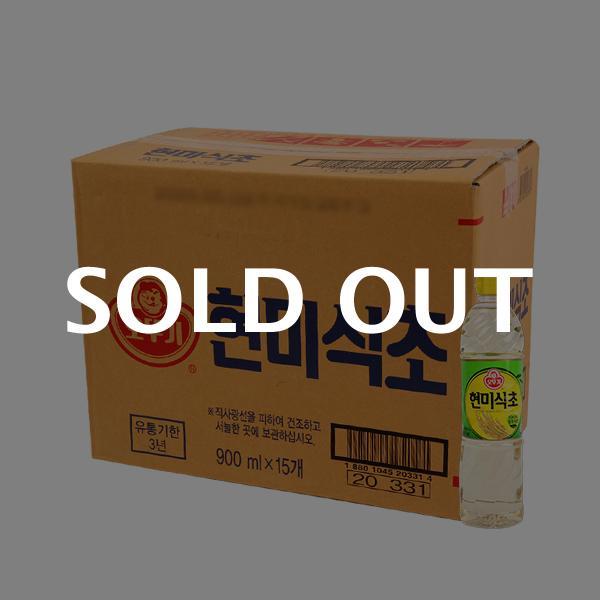 오뚜기 현미식초900ml(15개)이식사