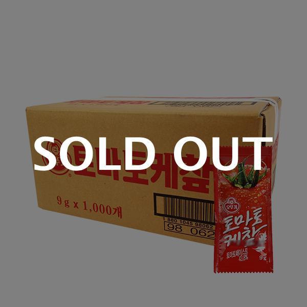 오뚜기 토마토케찹(일회용) 9g(1,000개)이식사