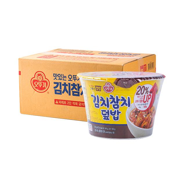 오뚜기 컵밥 김치참치덮밥 315g 12입이식사