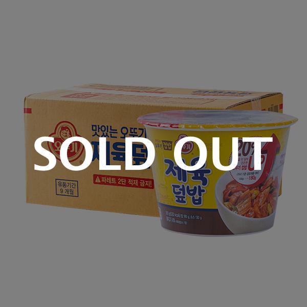 오뚜기 컵밥 제육덮밥 315g 12입이식사