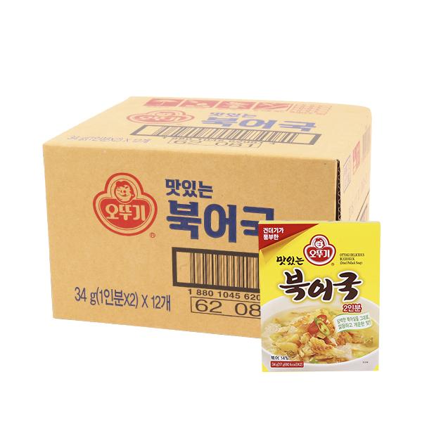 오뚜기 북어국34g(12개)이식사