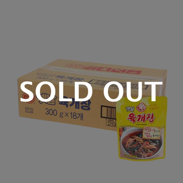 오뚜기 옛날 육개장300g(18개)이식사
