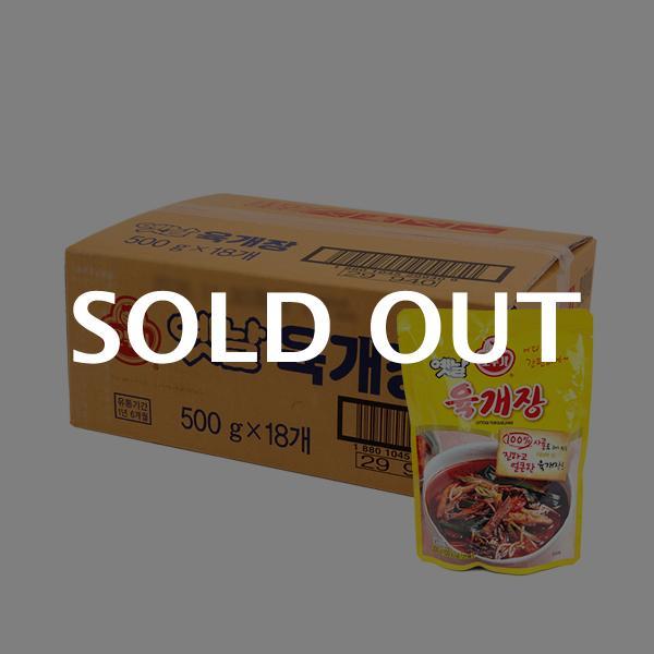 오뚜기 옛날 육개장500g(18개)이식사