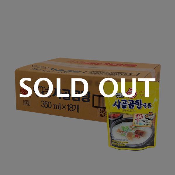 오뚜기 옛날사골곰탕 350g(18개)이식사