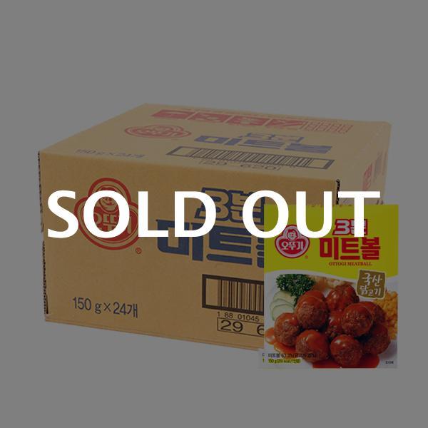 오뚜기 3분미트볼150g(24개)이식사