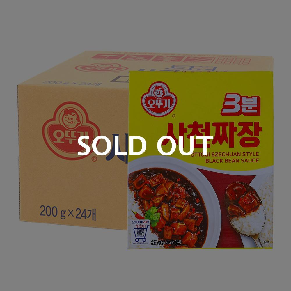 오뚜기 3분사천짜장 200g(24개)이식사
