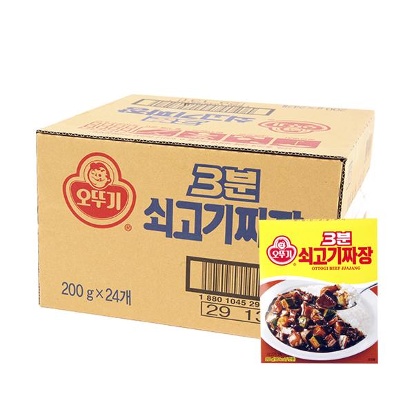 오뚜기 3분쇠고기짜장200g(24개)이식사