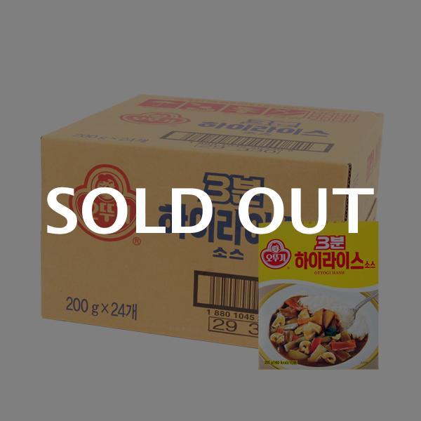 오뚜기 3분하이라이스200g(24개)이식사