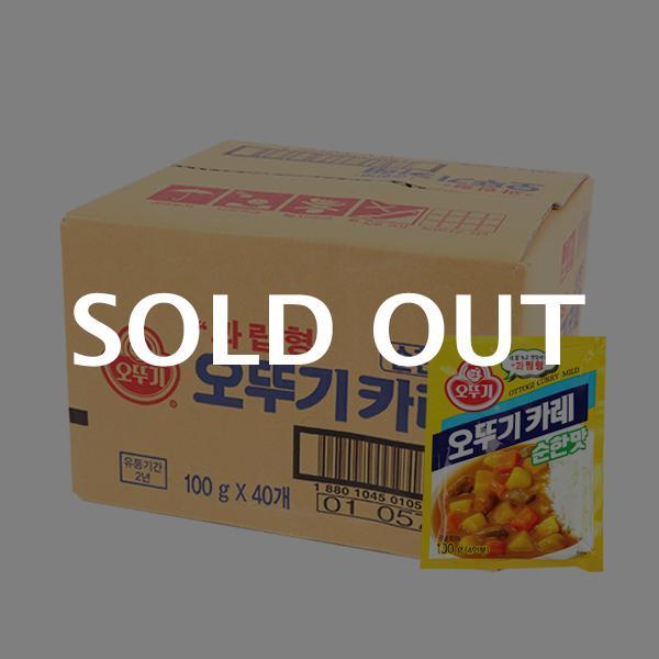 오뚜기 과립형카레(순한)100g(40개)이식사
