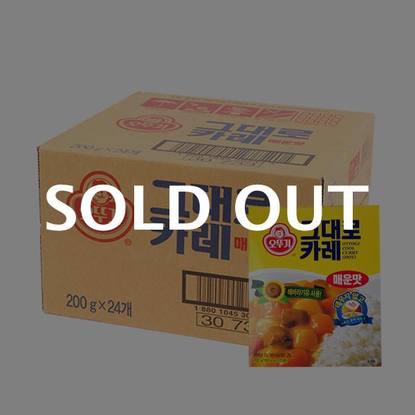 오뚜기 그대로카레(매운)200g(24개)이식사