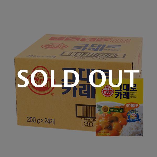 오뚜기 그대로카레(약매)200g(24개)이식사