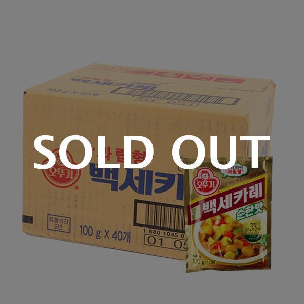 오뚜기 백세카레(순한)100g(40개)이식사