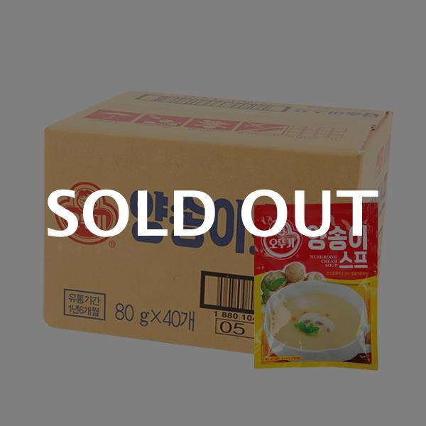 오뚜기 양송이스프80g(40개)이식사