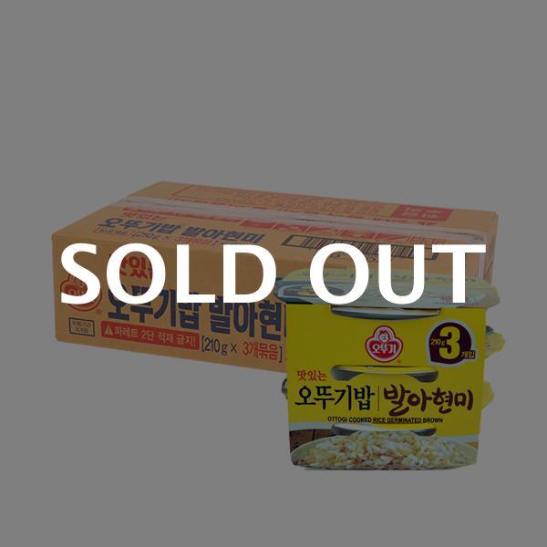 오뚜기 발아현미밥210g 3입(6개)이식사