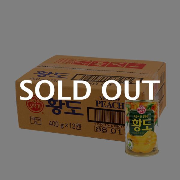 오뚜기 황도400g(12개)이식사