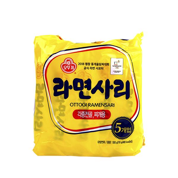 오뚜기 라면사리110g(5개)