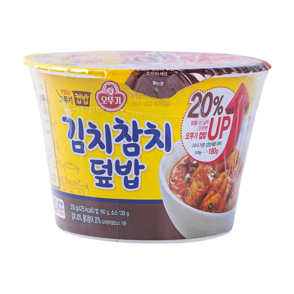 오뚜기 컵밥 김치참치덮밥 315g이식사