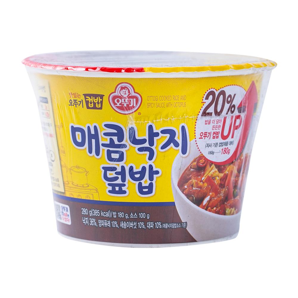 오뚜기 컵밥 매콤낙지덮밥 250g이식사