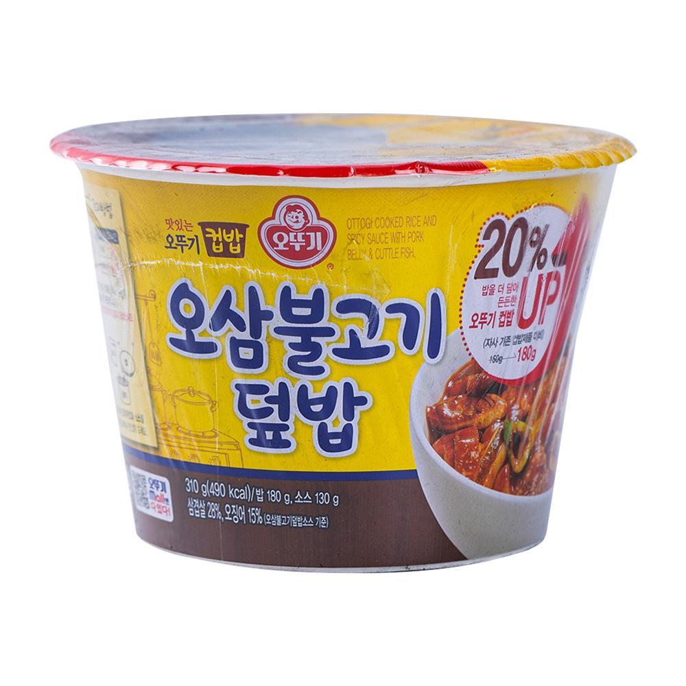 오뚜기 컵밥 오삼불고기덮밥 280g이식사