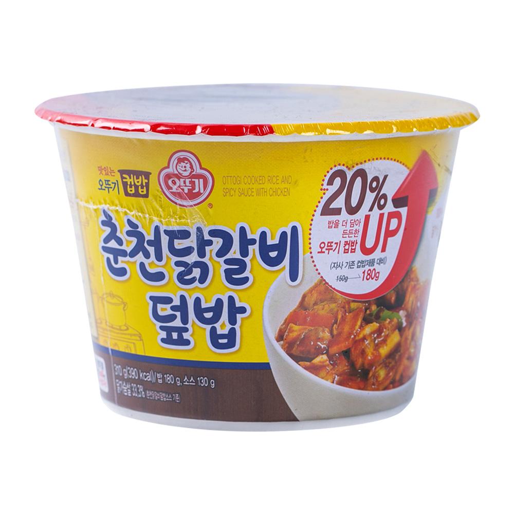 오뚜기 컵밥 춘천닭갈비덮밥 280g이식사