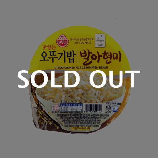 오뚜기 발아현미밥210g이식사