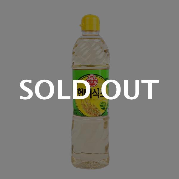 오뚜기 현미식초900ml이식사