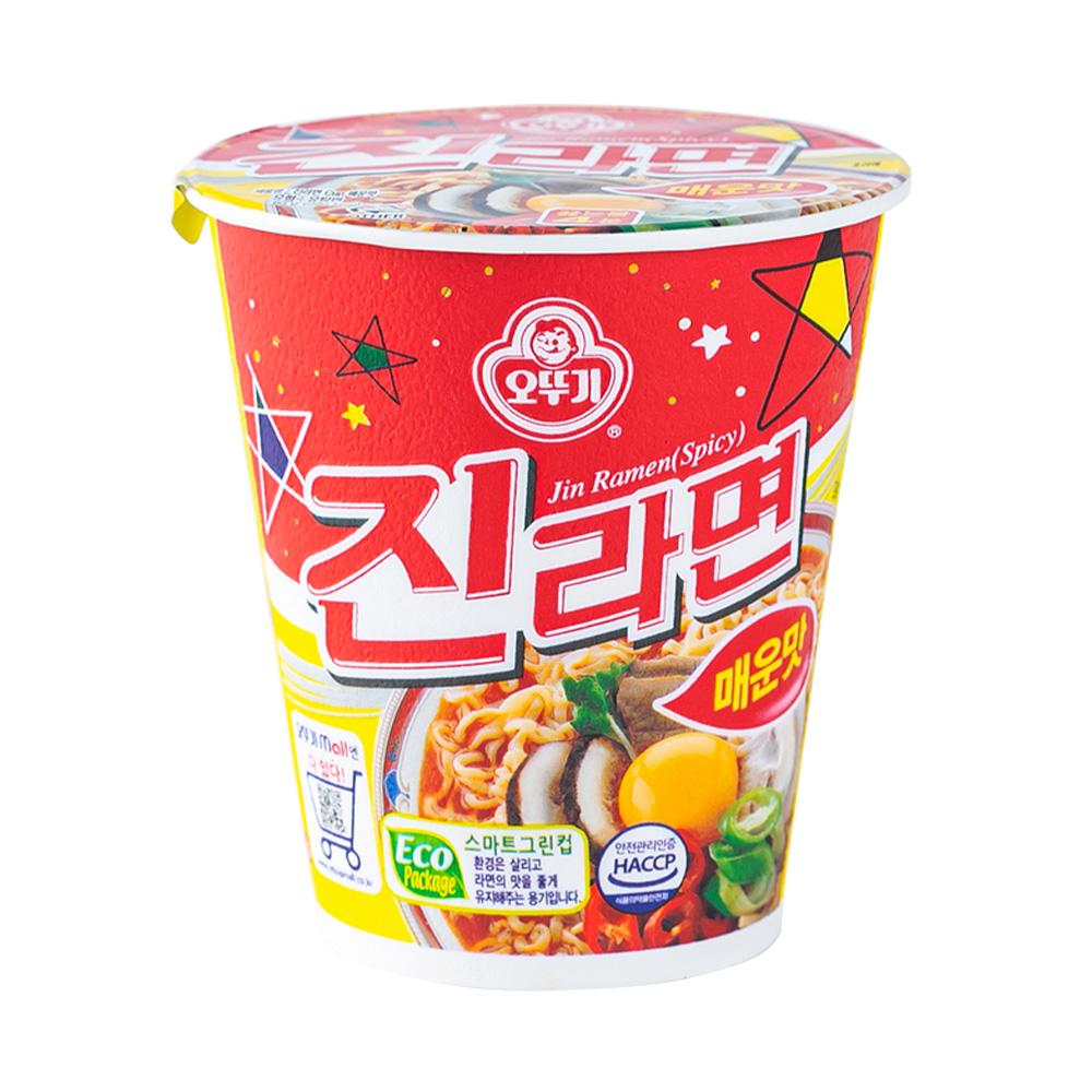 오뚜기 진라면소컵(매)65g이식사
