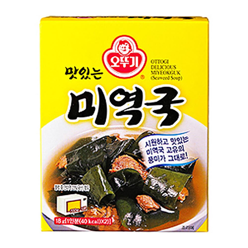 오뚜기 미역국18g이식사
