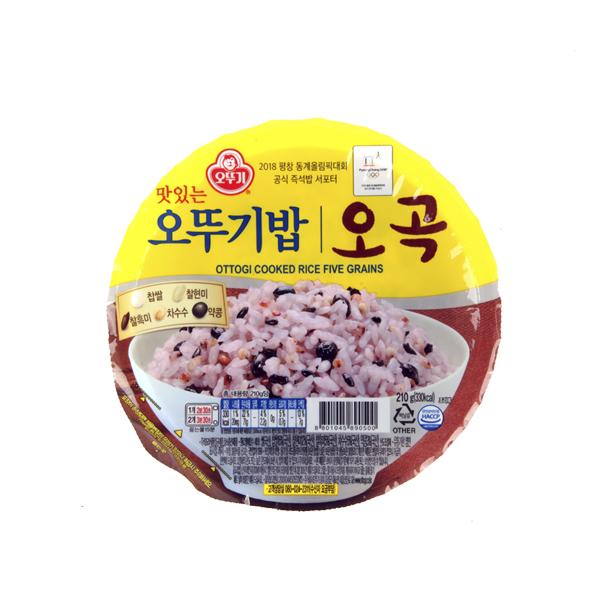 오뚜기 오곡밥210g이식사
