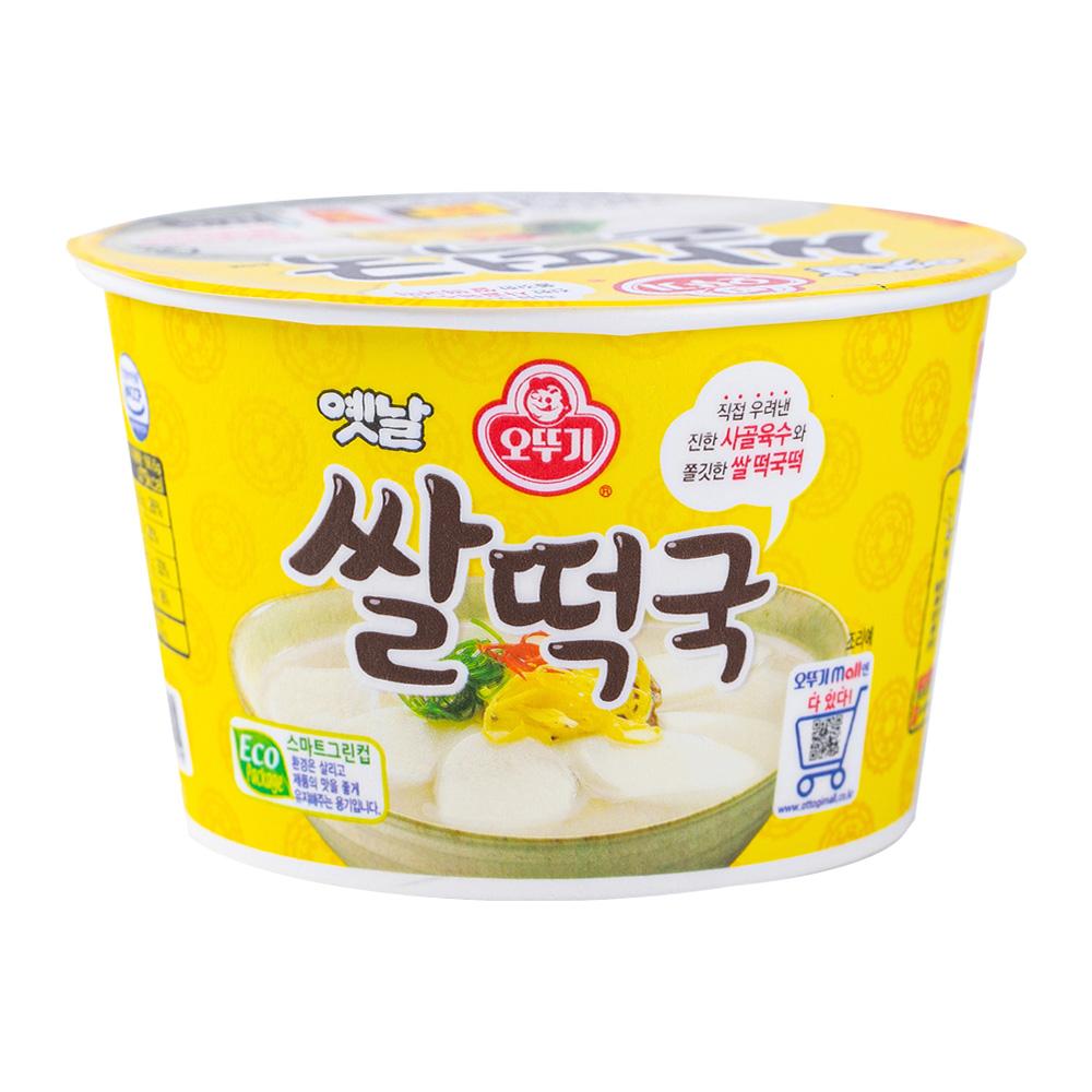 오뚜기 쌀떡국큰컵181.6g이식사