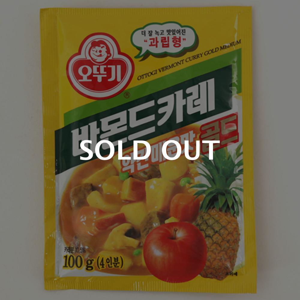 오뚜기 바몬드골드(약매)100g이식사