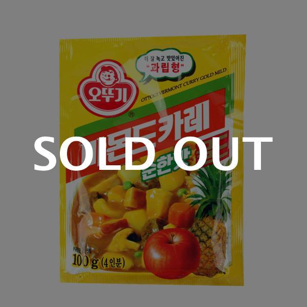 오뚜기 바몬드골드(순한)100g이식사