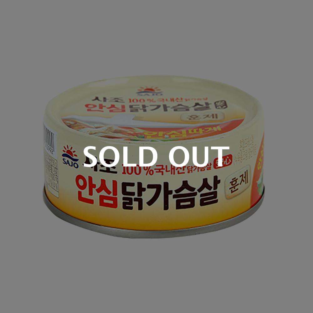 사조 닭가슴살훈제(안심) 90g