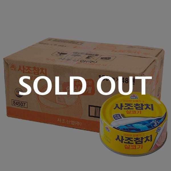 사조 살코기참치(안심)150g(48개)이식사