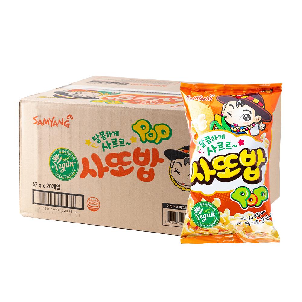 삼양 사또밥67g(20개)이식사