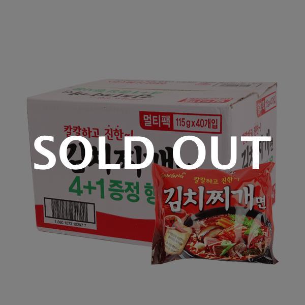 삼양 김치찌개면115g(40개)이식사