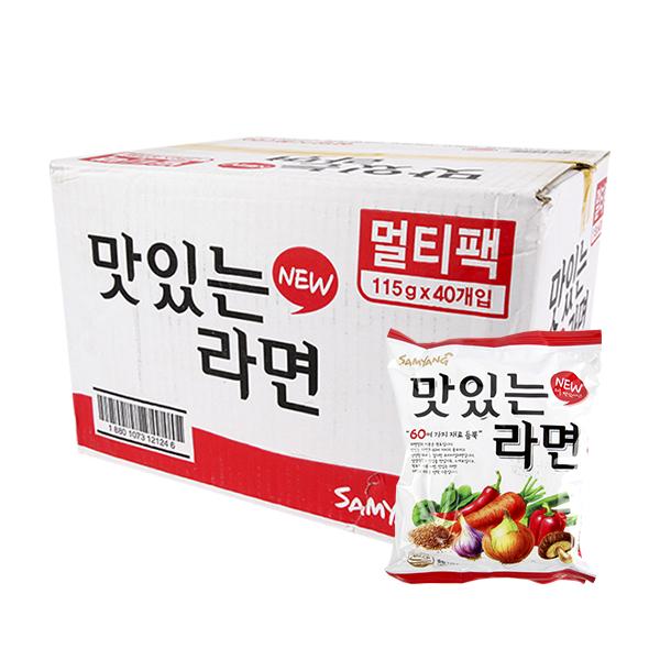 삼양 맛있는라면115g(40개)이식사