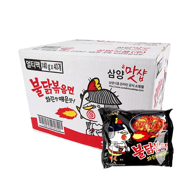 삼양 불닭볶음면140g(40개)이식사