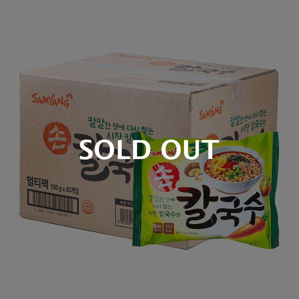 삼양 손칼국수100g(40개)이식사