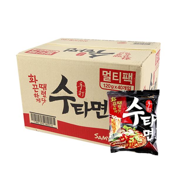 삼양 수타면120g(40개)이식사