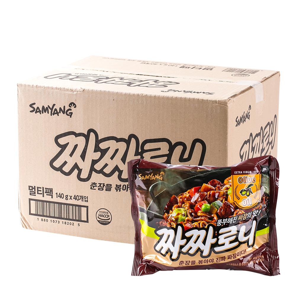 삼양 짜짜로니140g(40개)이식사