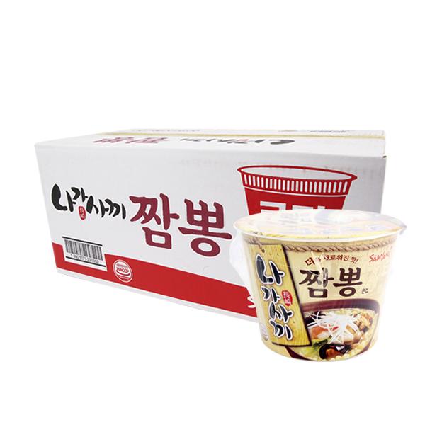 삼양 나가사끼큰컵105g(16개)이식사